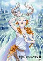 Spellcasters II Sketch Card - Jeena Pepersack 2 by Pernastudios