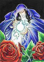Spellcasters II Sketch Card - Loren Bobbitt 3 by Pernastudios