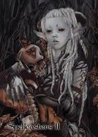 Elf Base Card Art by Yuriko Shirou by Pernastudios