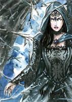 Witchcraft Sketch Card - Craig Yeung 2 by Pernastudios