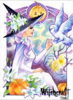 Witchcraft Sketch Card - Hanie Mohd 1 by Pernastudios