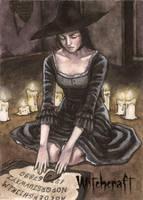 Witchcraft Sketch Card - Athina Konstantinidou 2 by Pernastudios