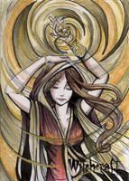 Witchcraft Sketch Card - Alexis Hill 3 by Pernastudios