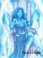 Elementals Sketch Card - Sha-Nee Williams 3 by Pernastudios