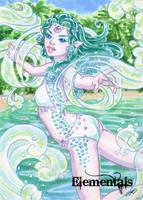 Elementals Sketch Card - Jeena Pepersack 3 by Pernastudios