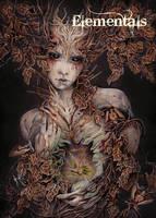 Elementals Earth Base Card Art by Yuriko Shirou by Pernastudios