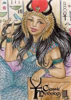 Hathor - Elfie Lebouleux by Pernastudios