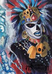 Mictecacihuatl - Meghan Hetrick by Pernastudios