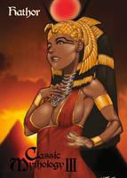 Hathor Base Card Art - Walter D. Rice Jr. by Pernastudios