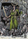 Hel Metal Chase Card Art - Tony Perna by Pernastudios