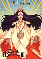 Amaterasu Lenticular Card Art - Meghan Hetrick by Pernastudios