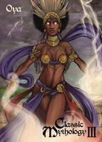 Oya Chase Card Art - Lynne Anderson by Pernastudios