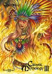 Chantico Base Card Art - Oliver Castaneda by Pernastudios