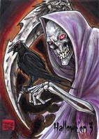 Hallowe'en 3 Sketch Card - Jason Saldajeno 1 by Pernastudios