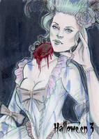 Hallowe'en 3 Sketch Card - Lisa Leblanc 1 by Pernastudios