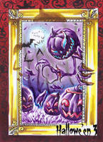 Hallowe'en 3 Sketch Card - Achilleas Kokkinakis 2 by Pernastudios