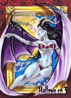 Hallowe'en 3 Sketch Card - Achilleas Kokkinakis 1 by Pernastudios
