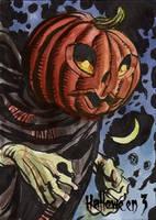 Hallowe'en 3 Sketch Card - Dan Brereton 3 by Pernastudios