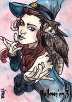 Hallowe'en 3 Sketch Card - Andre Toma 1 by Pernastudios
