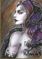 Hallowe'en 3 Sketch Card - Collette Turner 3 by Pernastudios