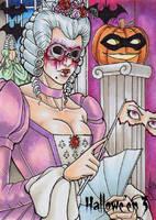 Hallowe'en 3 Sketch Card - Loren Bobbitt 1 by Pernastudios