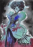 Hallowe'en 3 Sketch Card - Patrick Larcada 2 by Pernastudios