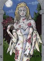 Hallowe'en 3 Sketch Card - Elaine Perna 3 by Pernastudios