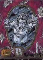 Hallowe'en 3 Sketch Card - Tony Perna 1 by Pernastudios