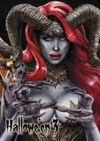 Demon - Base Card Art by Chris Meeks by Pernastudios