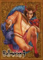 Devil - Base Card Art by Soni Alcorn-Hender by Pernastudios