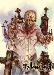 Zombie - Base Card Art by Andre Toma by Pernastudios