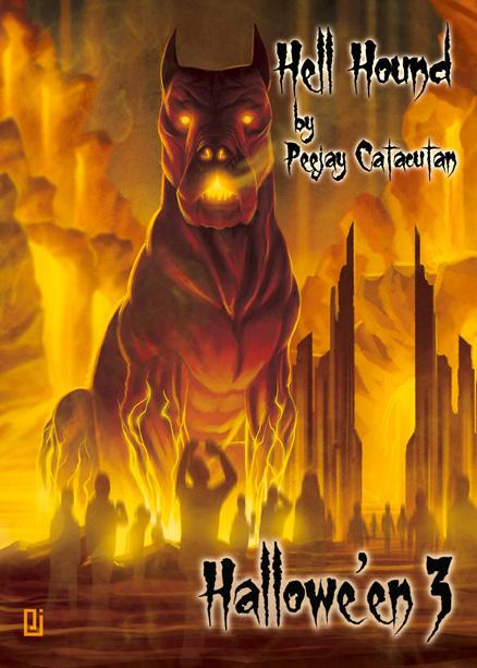 Hell Hound - Chase Card Art by Peejay Catacutan by Pernastudios