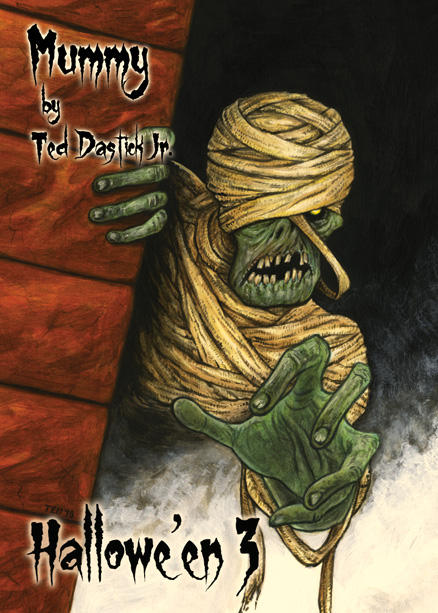 Mummy - Chase Card Art by Ted Dastick Jr. by Pernastudios