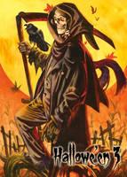 Reaper - Metal Chase Art by Dan Brereton by Pernastudios
