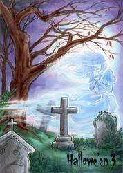 Hallowe'en 3 Sketch Card - Amy Clark 3 by Pernastudios