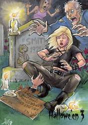 Hallowe'en 3 Sketch Card - Amy Clark 1 by Pernastudios