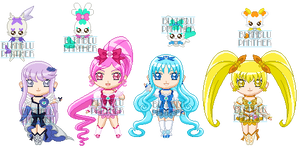 ChibiP: Heartcatch Pretty Cure by SugarRoseDoll