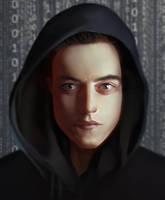 Elliot Alderson from Mr. Robot by DziKawa