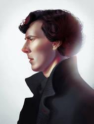 Sherlock Holmes from Sherlock (BBC) by DziKawa