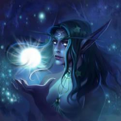 Tyrande Whisperwind from World of Warcraft by DziKawa