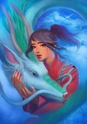 Spirited Away by DziKawa
