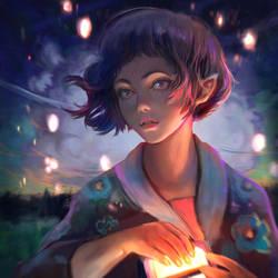 Hanabi by DziKawa