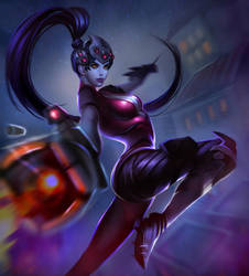 Widowmaker from Overwatch by DziKawa