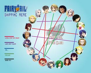 Fairy Tail Shipping Meme by AnimeManga4Evermore
