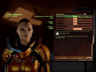 Mass Effect 2 Velvet Shepard by deeabc
