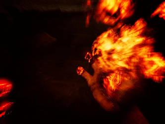 Bioshock Infinite Booker burning by deeabc