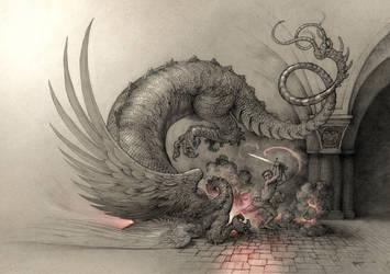 Zmaj - Dragon by Boban-Savic-Geto