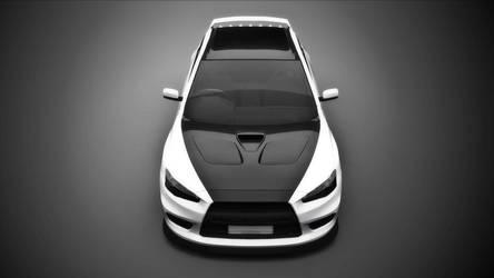 Mitsubishi Evo X by gbpackers