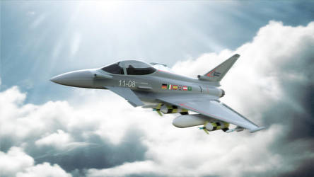 Eurofighter Typhoon by gbpackers