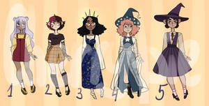 Adoptables batch closed by cherry----pie